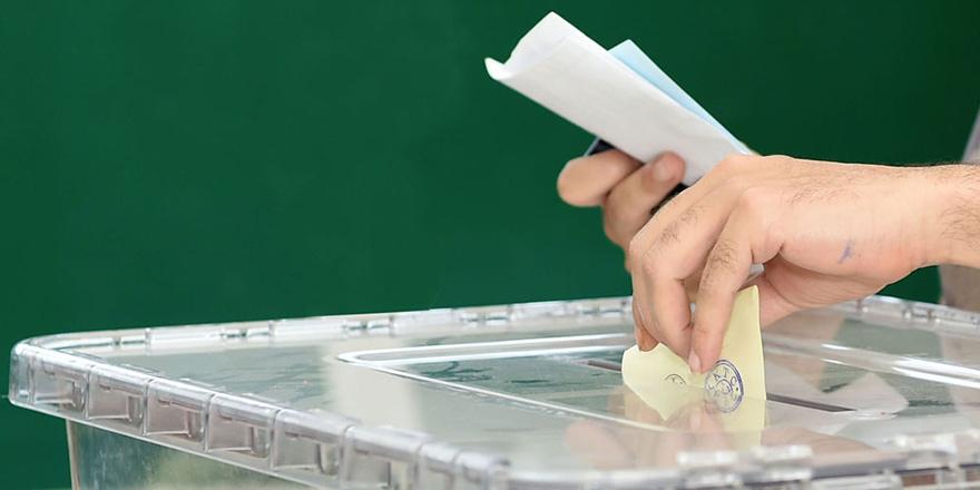 Kimlik kartı, pasaport ve ehliyetle oy kullanılabilecek