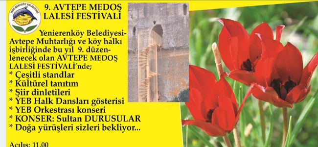 Medoş Lale Festivali 24 Martta