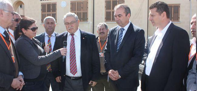 Sertoğlu UBP'li bakanları ziyaret etti