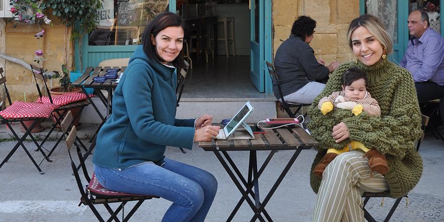 Surlariçi'ne renk katan mekân;  Tezgah Cafe