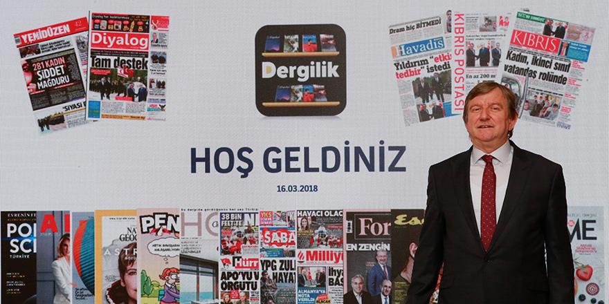 Dergilik Kuzey Kıbrıs'ı dijital yayıncılık dünyasına taşıyor