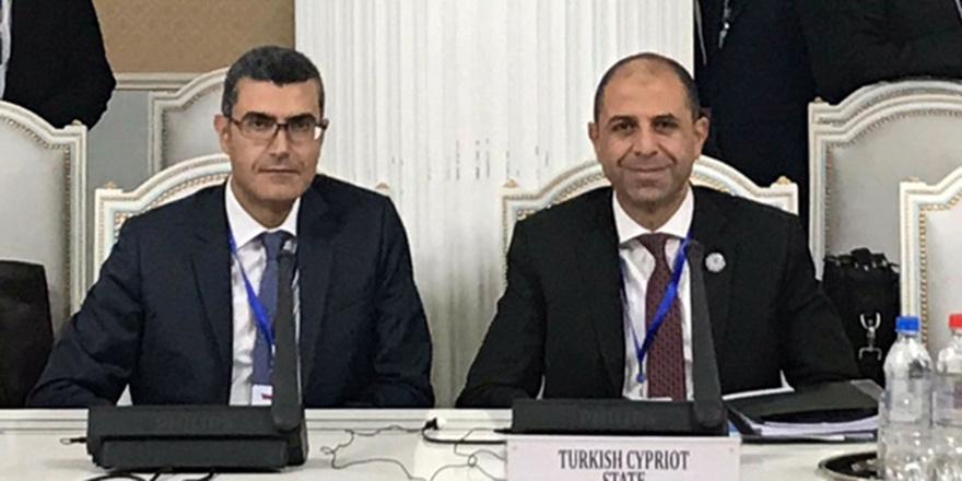 Dışişleri Bakanı Özersay Duşanbe'de
