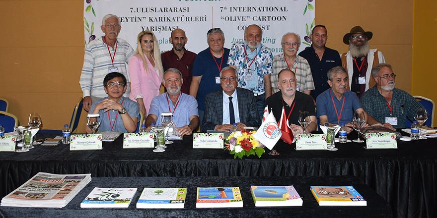 Zeytin Karikatürleri Yarışması tanıtıldı