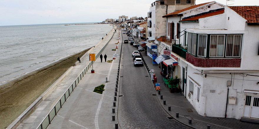 En çok Kıbrıslı Türk malı Larnaka'da kullanılıyor