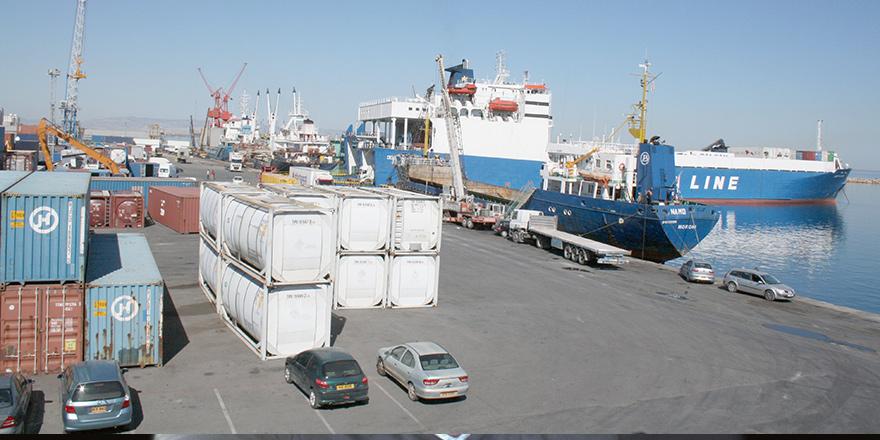 Mağusa Limanı'nda bir tırda 11 mülteci bulundu