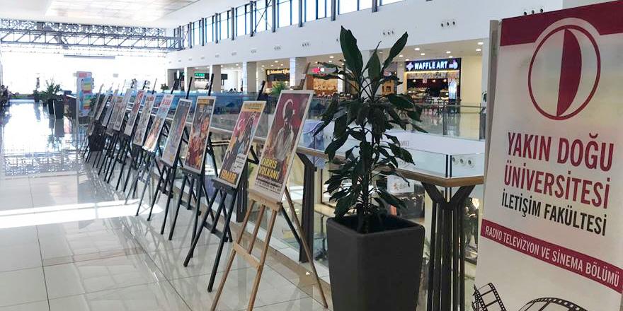 """""""Film Afişlerinde Kıbrıs"""" sergisi, City Mall AVM'de açıldı"""
