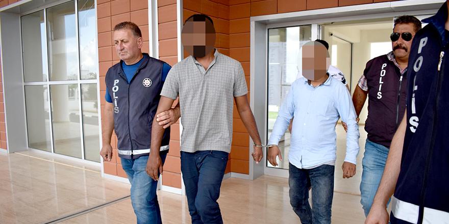 Şüpheli görülen 2 kişinin kaçak olduğu ortaya çıktı…
