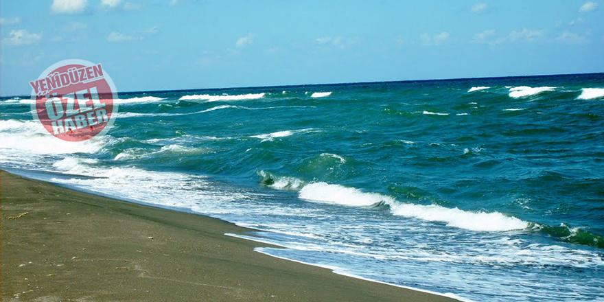 Girne'de gözler Püsküllü Plajı'nda