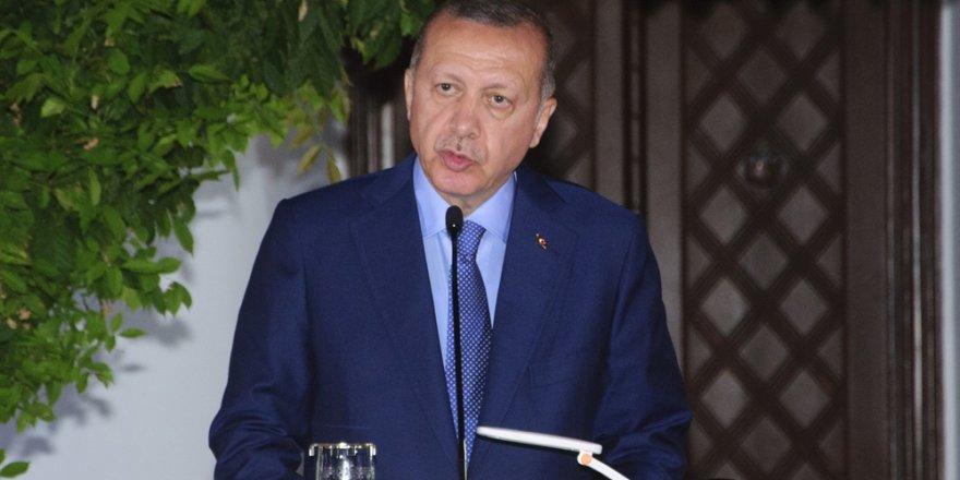 Erdoğan: Garantör olarak hakkınızı koruruz