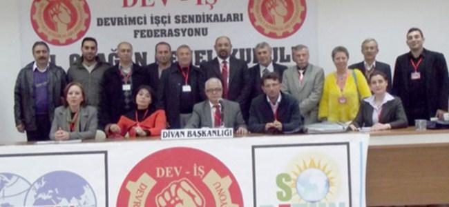 DEV-İŞ'te yetkili organlar açıklandı