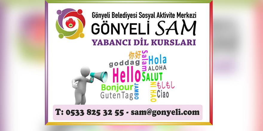 Gönyeli SAM'da yabancı dil kursları başlıyor