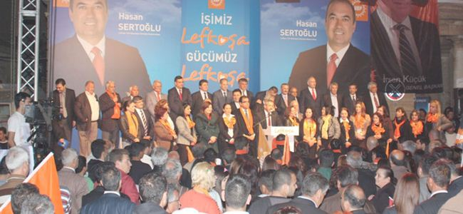 UBP adaylarını tanıttı