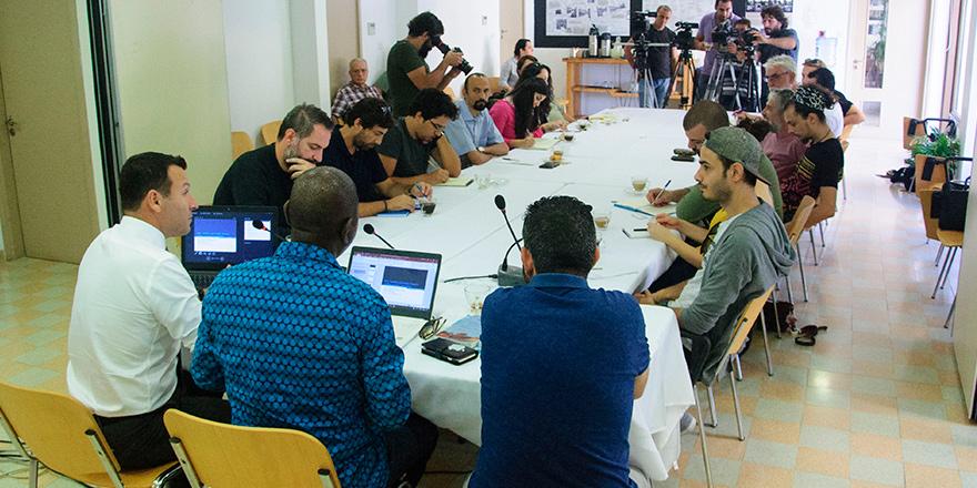 Ara bölgede 'Barış Gazeteciliği' tartışıldı