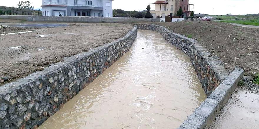 Dikmen'de yağmur korkutmadı