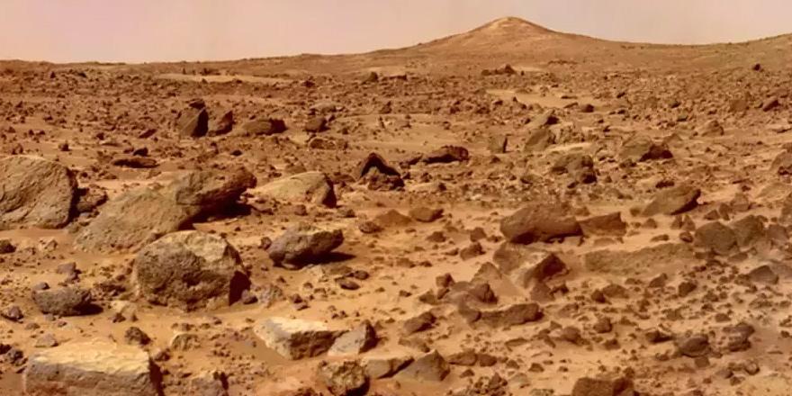 """Mars'ta artık küçük bir Kıbrıs var"""