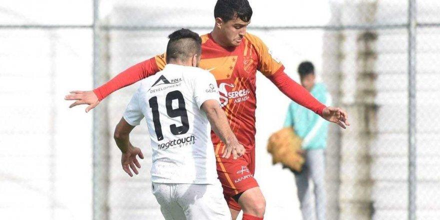 Karaoğlanoğlu'nda kazanan yok: 1-1