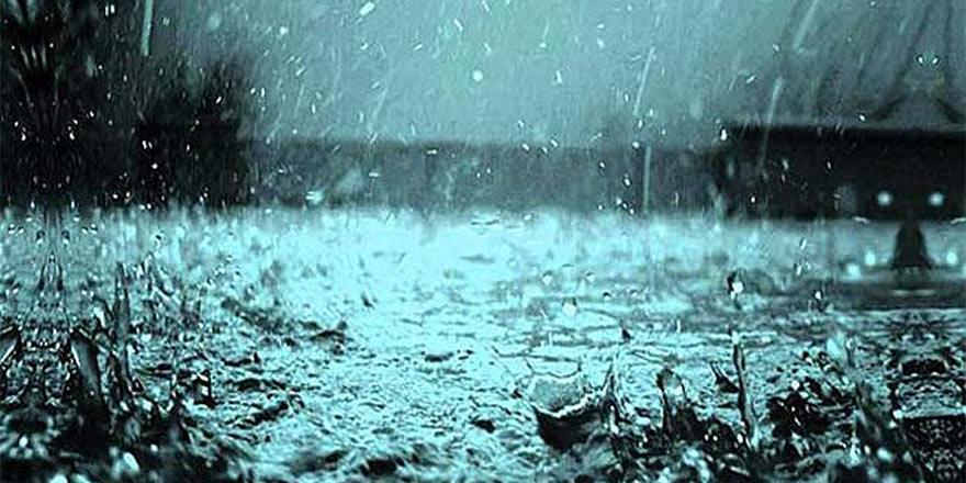 Yer yer sağanak yağış ve fırtına bekleniyor
