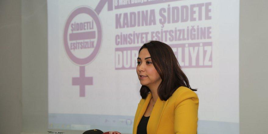 """""""Kadın mücadelesi eşitlik mücadelesidir"""""""