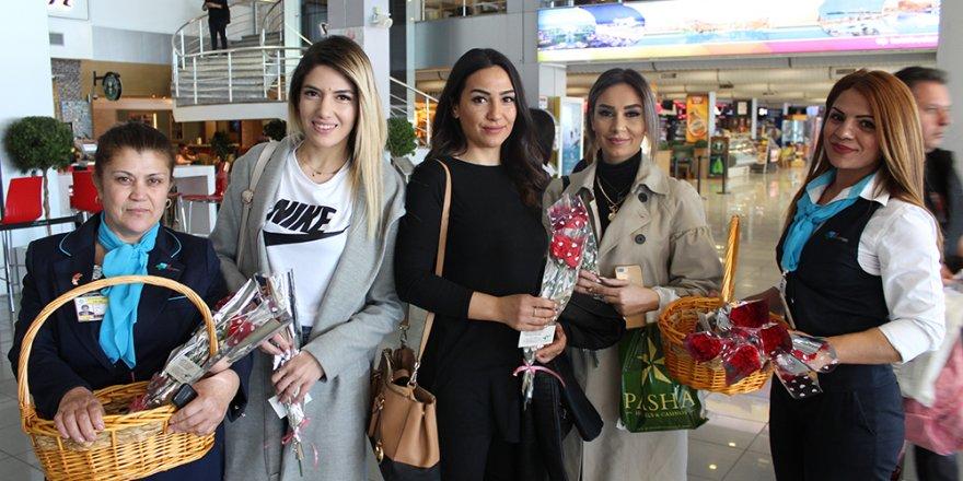 Ercan'da '8 Mart' kutlaması