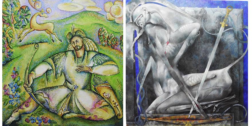Tatar ressamların eserleri sergilenecek