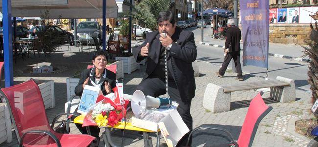 Kırdağ, Sarayönü'nde basın toplantısı düzenlendi