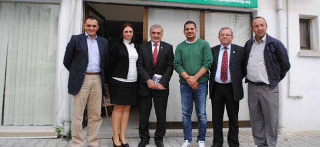 Arabacıoğlu, Biyologlar Derneği'ni ziyaret etti