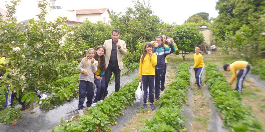 Dörtyol İlkokulu, Güzelyurt'u gezdi