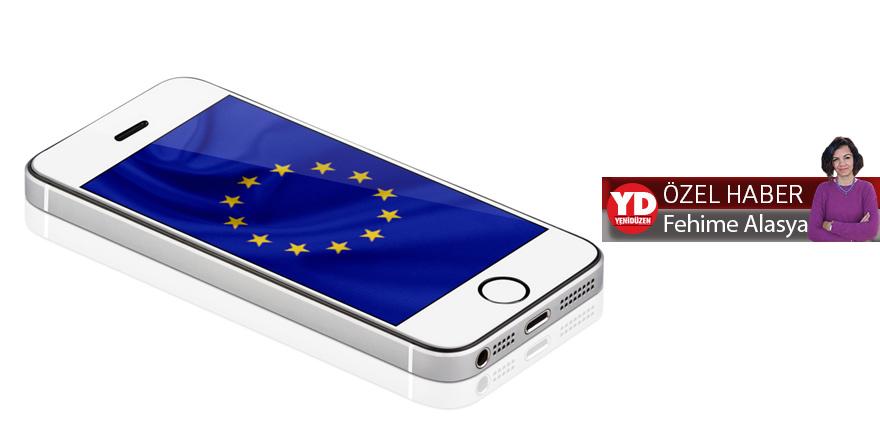 'Mobil' iletişimde Avrupa Birliği süreci  Uluslararası aramalarda Avrupa farkı
