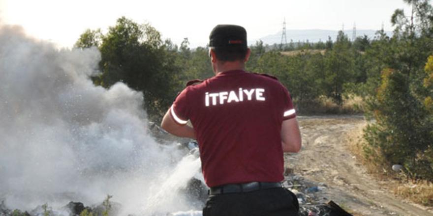 Polisten yangın uyarısı