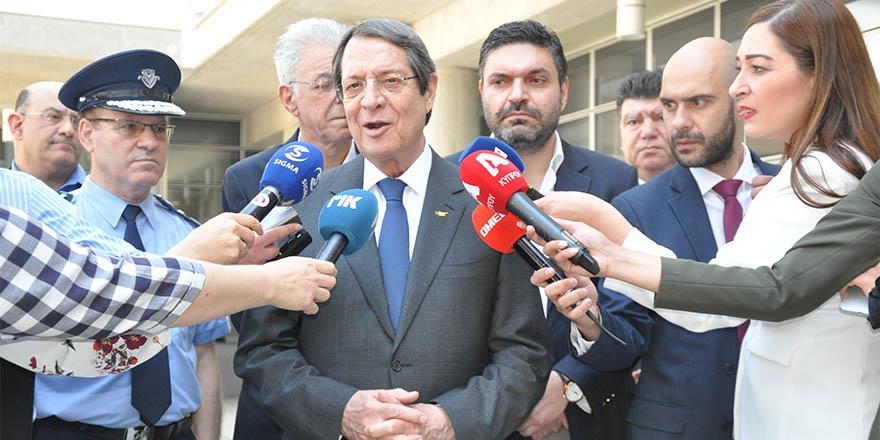 Anastasiadis'den seçim açıklaması