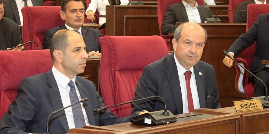 UBP-HP koalisyon hükümetinin güven oylaması gündemiyle olağanüstü toplanan Meclis Genel Kurulu ayrıca 1 Haziran toplantısınıyarına ertelemişti.