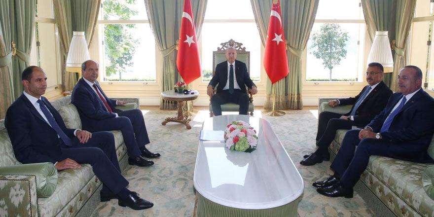 Erdoğan-Tatar-Özersay görüşmesi tamamlandı