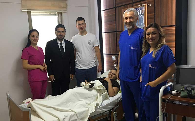Sağlık turistleri ve hastalara ziyaret