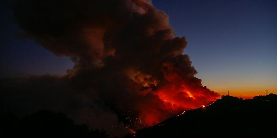 İzmir'deki yangın kontrol atına alındı