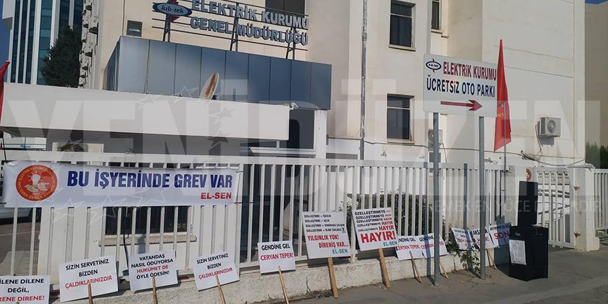 El-Sen, Kıb-Tek'te süresiz greve gidiyor