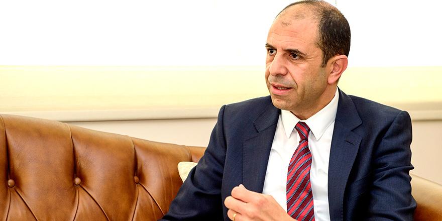 """Özersay: """"Ne Kıbrıslı Rumların yönetimine ne de Türkiye'ye entegre"""""""