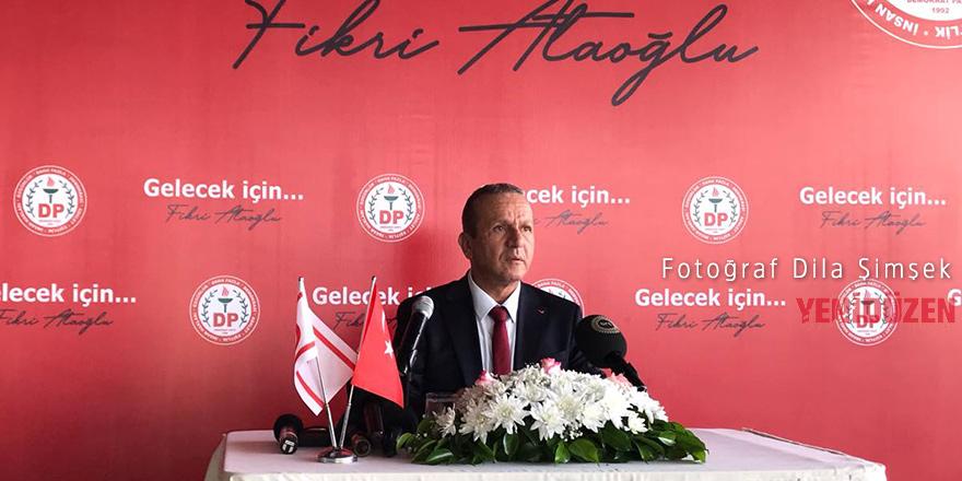 Fikri Ataoğlu DP Genel Başkanlığına aday