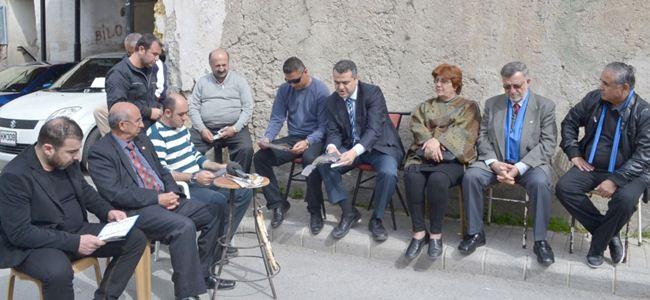 """TDP adayları """"Samanbahça""""yı ziyaret etti"""