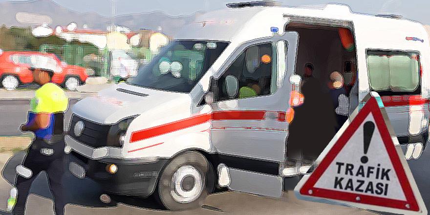 Gemikonağı'nda korkutan kaza