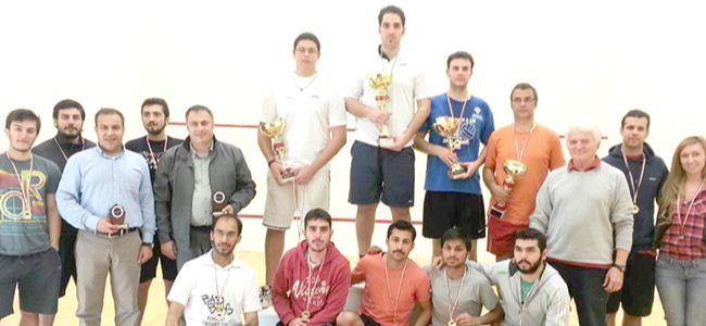 Squash turnuvası tamamlandı