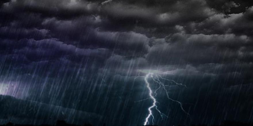 Şidddetli yağış uyarısı