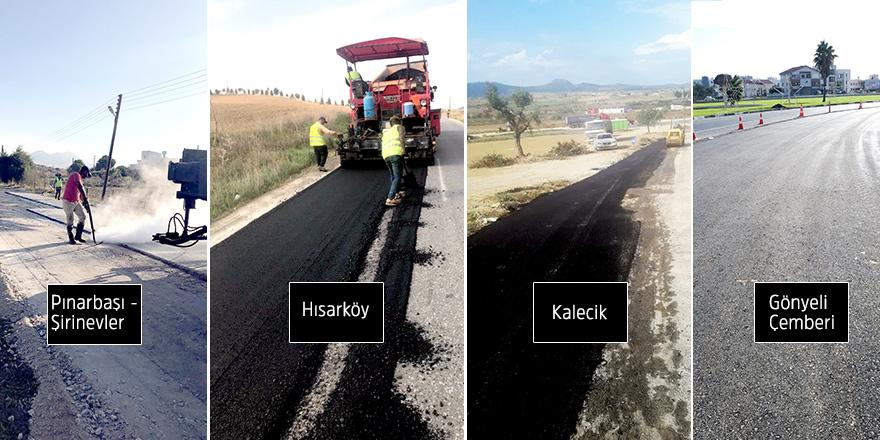 Yol bakım – onarım çalışmaları sürüyor