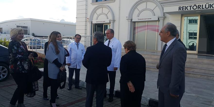 YÖDAK, Girne Üniversitesi'nde incelemerde bulundu