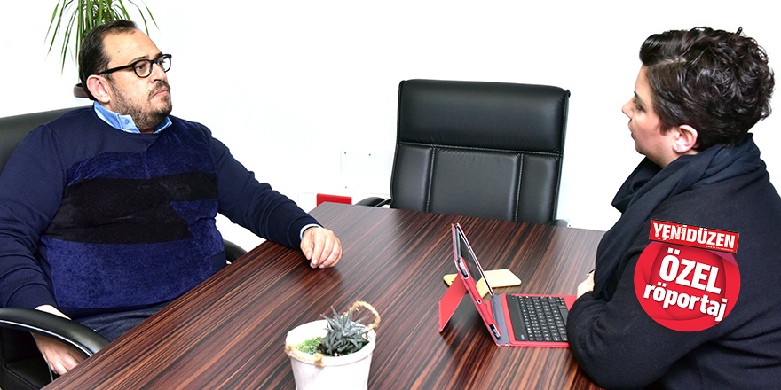 """Otelciler Birliği Başkanı Dimağ Çağıner:  """"Larnaka'dan gelip kuzeye geçen  turist sayısında %40 artış"""""""