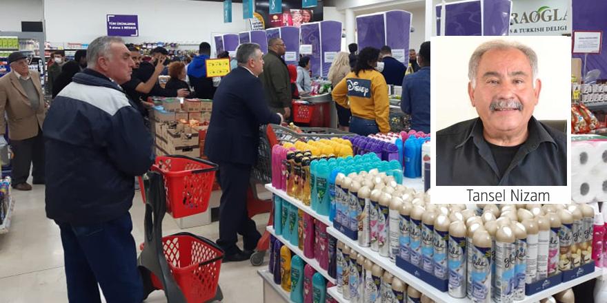 """Marketçiler Birliği Başkanı Tansel Nizam:""""En fazla talep temizlik ürünlerine"""""""