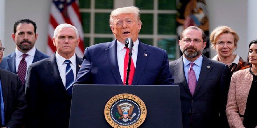 ABD Başkanı Trump Corona virüs salgını nedeniyle ulusal acil durum ilan etti