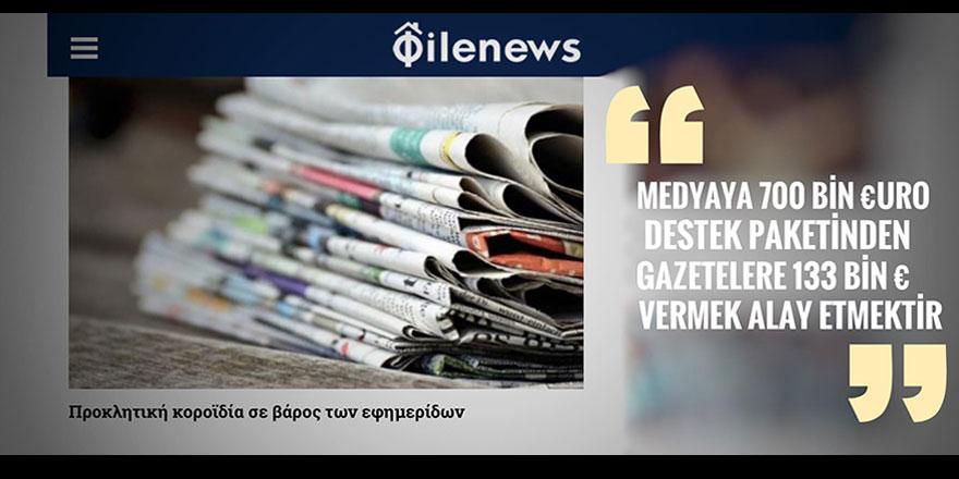 Medyada 700 bin Euro isyanı