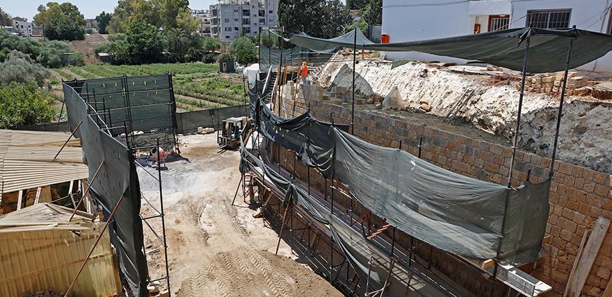 Cephane Tabyası'nın restorasyonu tamamlanıyor
