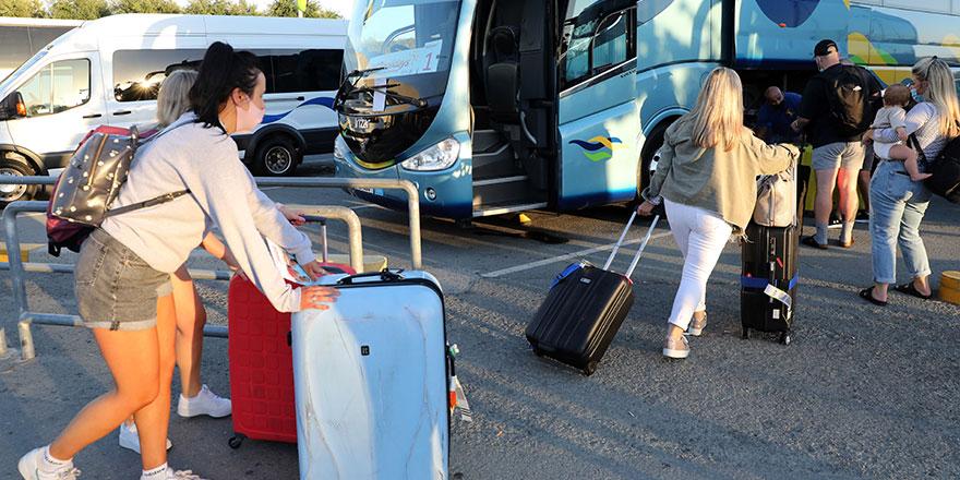 Güneyde 2020 yılında bir önceki yıla göre 3.3 milyon turist kaybı