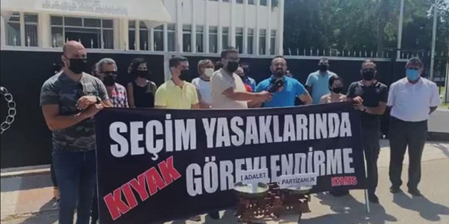 KTAMS istihdamları protesto etti